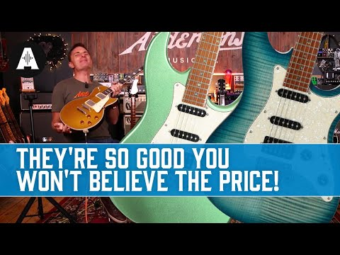 NEW Sire Electric Guitar Range - £500 Guitars that are Good Enough for Larry Carlton!