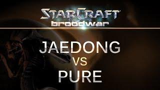 StarCraft - Brood War - Jaedong (Z) v Pure (P) on Blue Storm