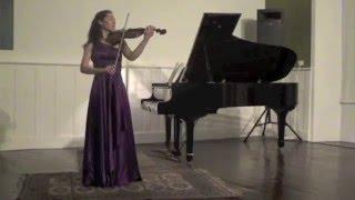 Bach Sarabande and Gigue