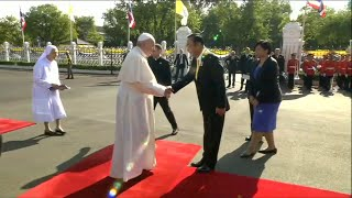 Pope Francis meets Thai Prime Minister in Bangkok | AFP