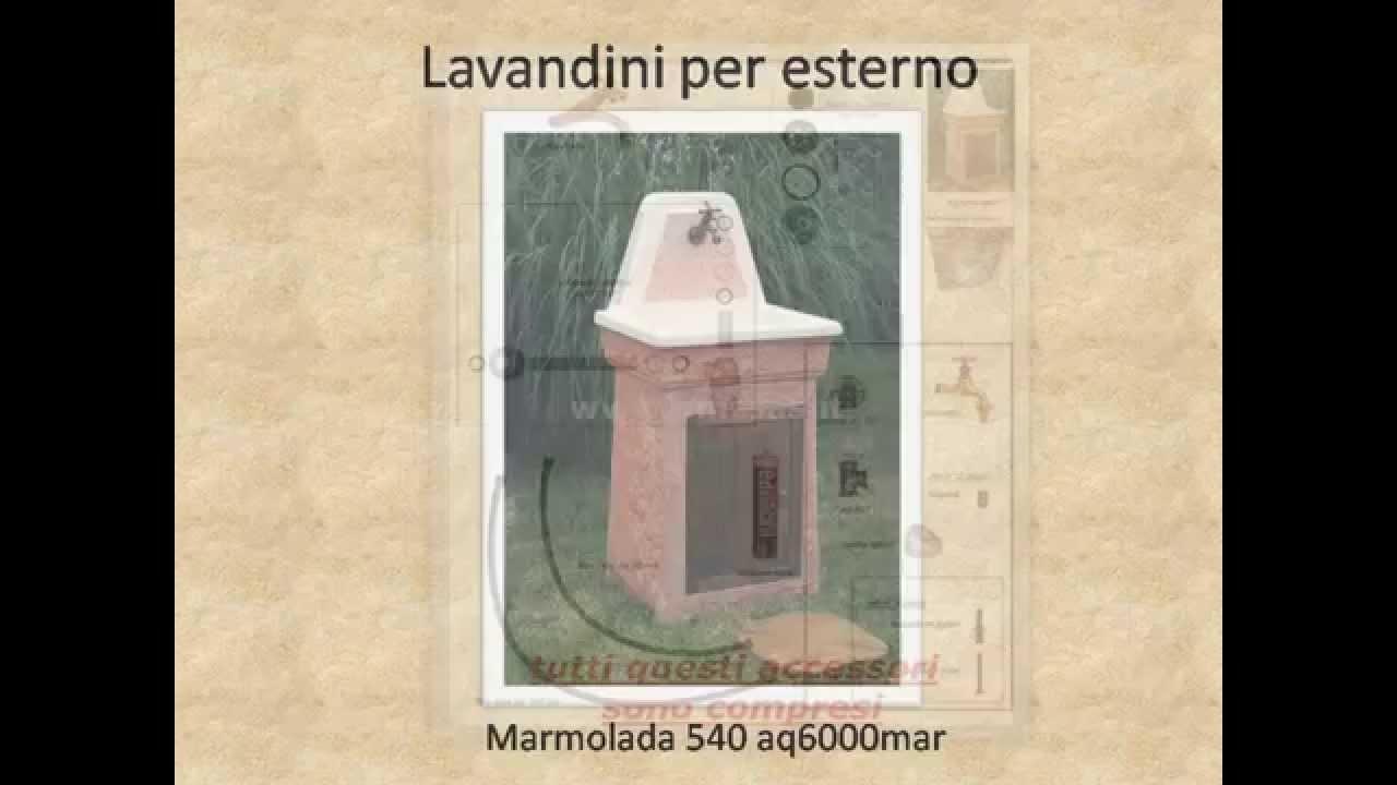 Lavandini per esterno marmolada 540 aq6000mar acquaio o - Lavandini esterni ...