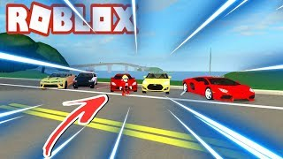 Roblox: Ultimate Driving #21-attended a slit up the street and gave bad!!!