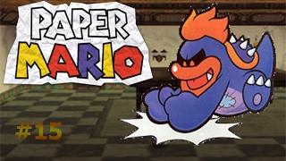 Viaje al castillo de Tubba Blubba/Paper Mario capítulo 15