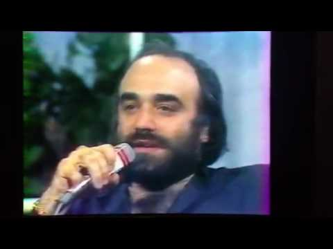 Demis Roussos rare Interview  from french TV