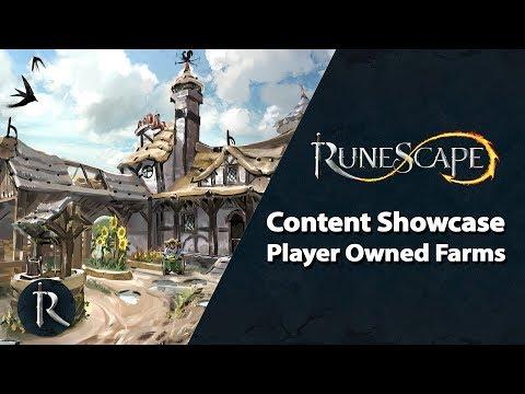RuneScape Content Showcase - Player Owned Farms, Quest Points, Avatar rework & Clan improvements