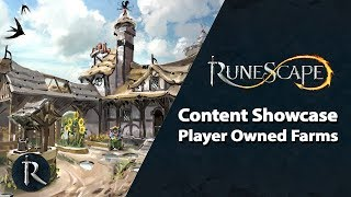 RuneScape Content Showcase - Player Owned Farms, Quest Points & Clans