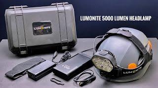 Lumonite REDICULOUS 5000 Lumen Leader Headlamp | Review