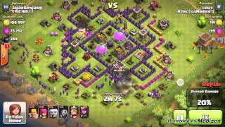 Best Attack Strategy Town Hall 10 - With (Archer Queen, Barbarian King,Wizard) Clash Of Clans
