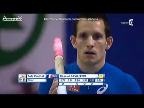 Renaud Lavillenie champion d'europe à Göteborg concours complet