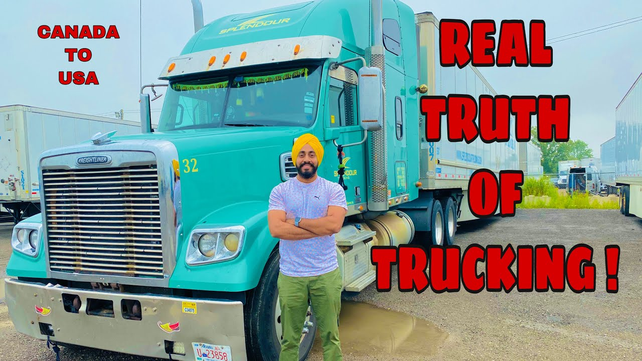 LIFE OF TRUCK DRIVERS IN CANADA  SALARY LICENCE EXPENSE ...