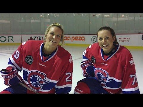 Patinez avec les Canadiennes! / Skate with Les Canadiennes!