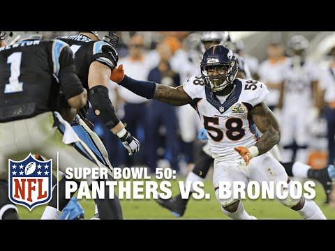 Panthers vs. Broncos (Super Bowl 50) | Cam Newton vs. Peyton Manning | NFL Replay