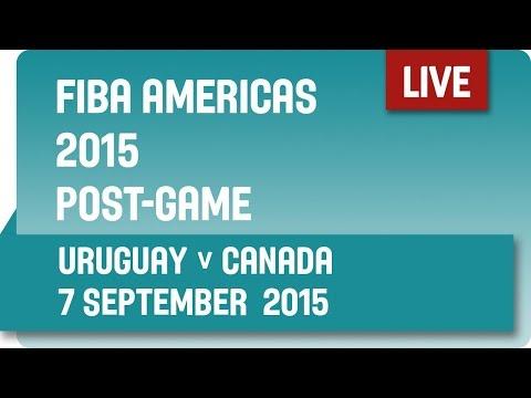 Post-Game: Uruguay v Canada - Second Round -  2015 FIBA Americas Championship