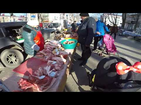 остров Сахалин ЯРМАРКА в городе Корсаков обзор цен