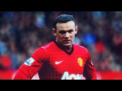 Wayne Rooney ► Top Gun Of United  | 2012/13 | HD