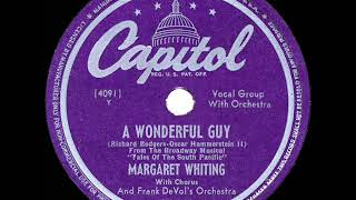1949 HITS ARCHIVE: A Wonderful Guy - Margaret Whiting