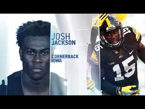 Josh Jackson 2018 NFL Scouting Combine workout