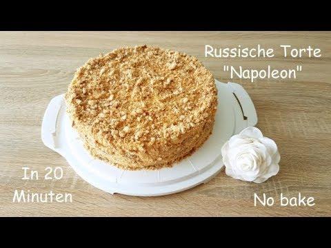 Russische Torte Napoleon In Nur 20 Min Und Ohne Backen/Soooo Lecker :D