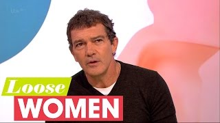 antonio banderas on dakota johnson loose women