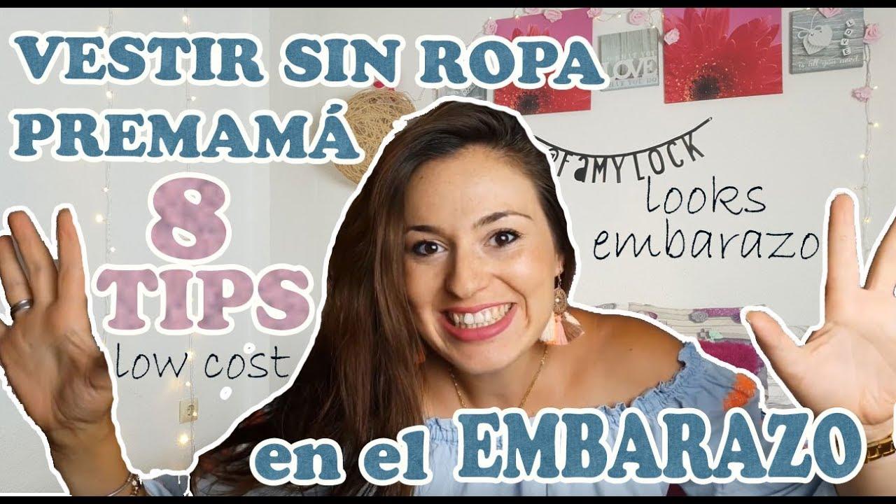 mitad de descuento 821c1 a9e12 VESTIR EMBARAZADA SIN ROPA PREMAMÁ | Looks Premamá | Embarazada de 30  Semanas | Famylock