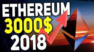 БИТКОИН 2.0 Ethereum Ожидает Рост до 3000$ Прогноз ETH Курс Эфириум в 2018