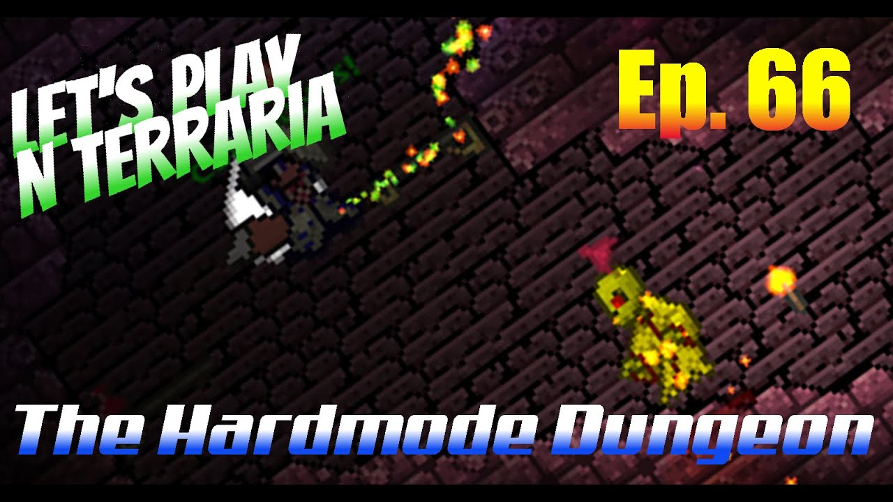 Lets Play N Terraria Episode 66 The Hardmode Dungeon Muleskull