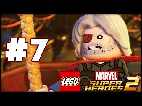 LEGO Marvel Superheroes 2 - Part 7 - Surtur! (HD Gameplay Walkthrough)