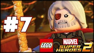 LEGO Marvel Superheroes 2 - Part 7 - Surtur! (HD Gameplay Walkthrough)