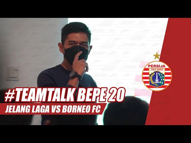 #DIBUANGSAYANG | Momen Team Talk Bambang Pamungkas Jelang Lawan Borneo FC di Piala Menpora 2021