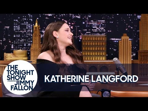 Katherine Langford Burst into Tears Talking to Brie Larson and Reese Witherspoon