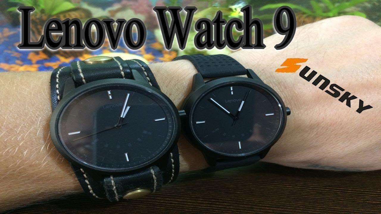 Обзор Lenovo Watch 9 гибридные смарт часы-Опыт Использования