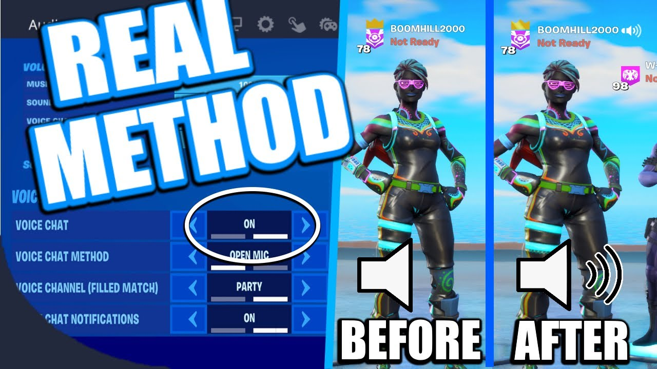 Fortnite Game Chat Not Working FIX! XBOX/PS4 2020 (HOW TO FIX VOICE CHAT FORTNITE) Season 3!