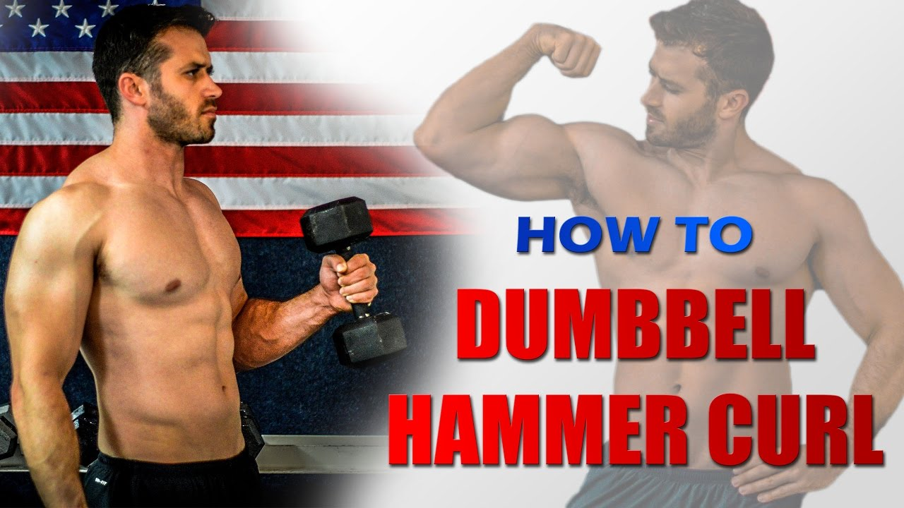 How to Perform Dumbbell Hammer Curls (Correct form and technique ...