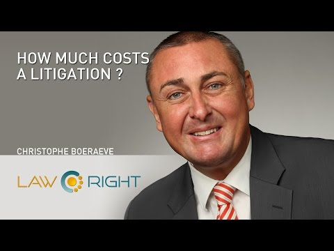 LawRight - How much costs a litigation