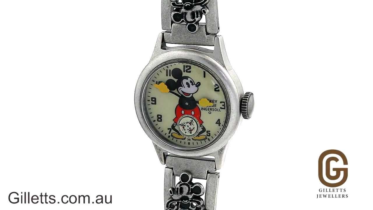 Ingersoll mickey mouse watch dating the enemy 5