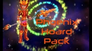 Wizard101: New Phoenix Hoard Pack: Gargoyle Pet, Dragon Pike, Dragon Armor