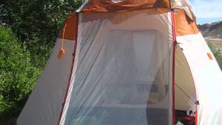 Видео обзор - высокая кемпинговая палатка Rock Land Camper 5