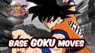Dragon Ball FighterZ - Goku Moves/ Combos/ Dramatic [DLC3]