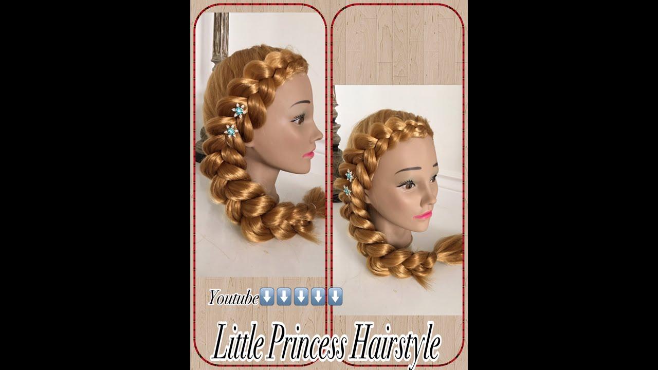Como hacer una trenza de lado peinados faciles y rapidos - Como hacer peinados faciles ...