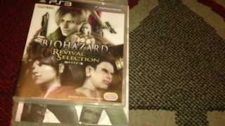 Nostalgamer Unboxes Biohazard Revival Selection Limited Edition On Sony Playstation 3 NTSC-J P1