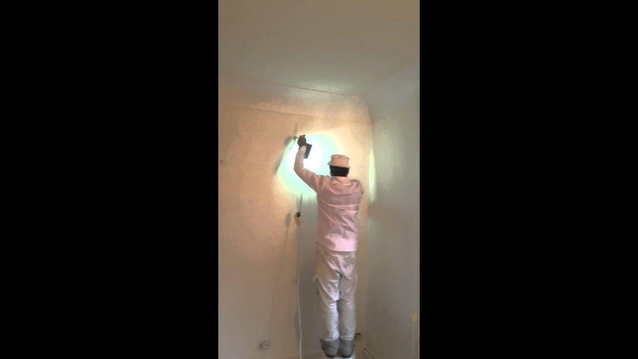 Ponage Des Murs Avant Mise En Peinture  Youtube