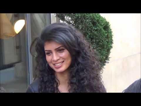 VIDEO Tina Desai  Kala & Purab Kohli  Rajan @ Paris 19 october 2017 for Sense8 Sense8