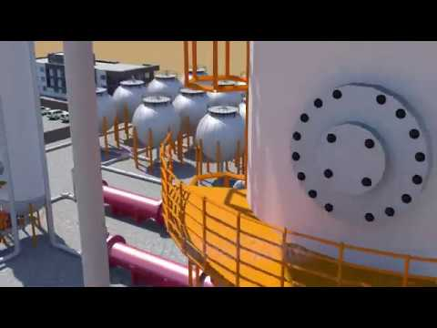 Chemical Engineering Plant Design For Ethanol Production (Animation)