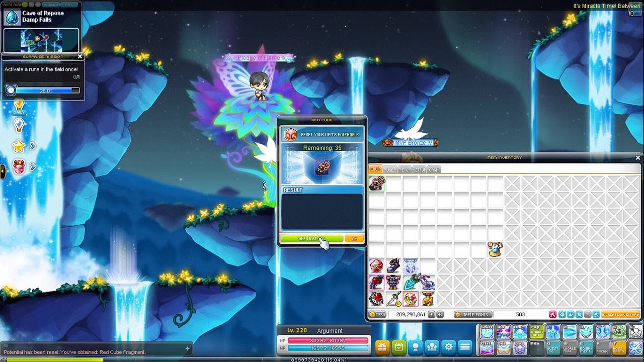MapleStory - DMT on my Adele (Double Miracle Time)