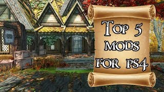 Top 5 mods of the month for Skyrim on PS4 #2