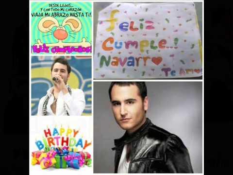 Feliz Cumpleaños Jesús Navarro