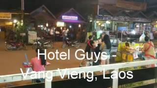 Video #22 - Nighttime Street Life - Vang Vieng, Laos download MP3, 3GP, MP4, WEBM, AVI, FLV Juli 2018