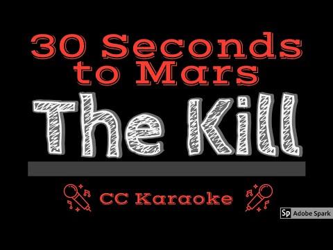 30 Seconds To Mars • The Kill (CC) [Karaoke Instrumental Lyrics]