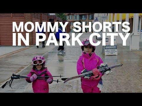 TRAVEL TUBE: Mommy Shorts in Park City