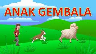 Anak Gembala Lagu Anak Indonesia Populer-Animasi Lucu
